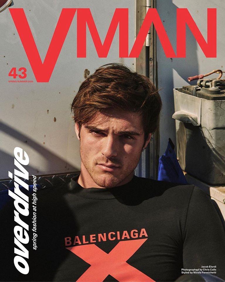 Jacob Elordi for VMAN Spring Summer 2020