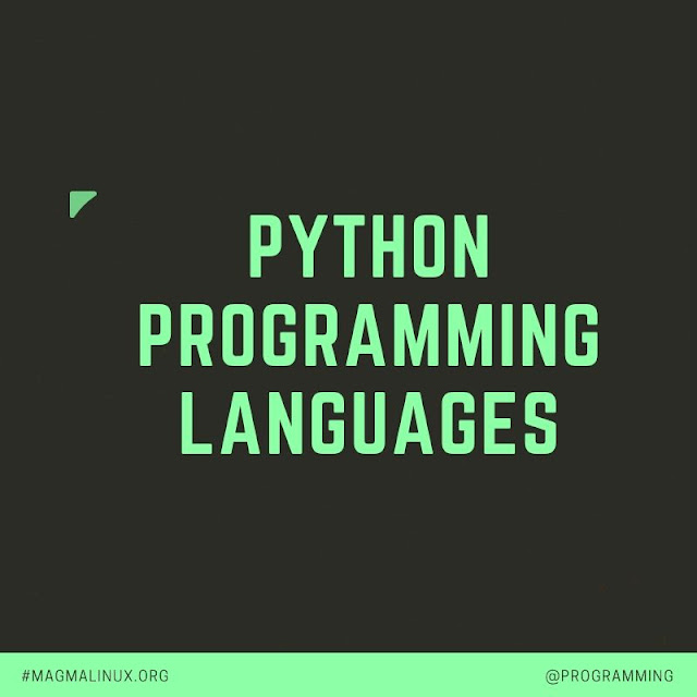 python programming languages