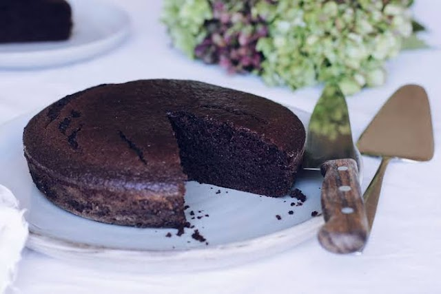 Egg less Chocolate Cake Recipe