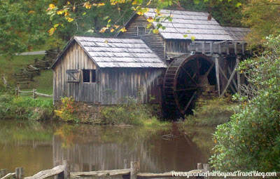 Mabry Mill in Floyd County Virginia