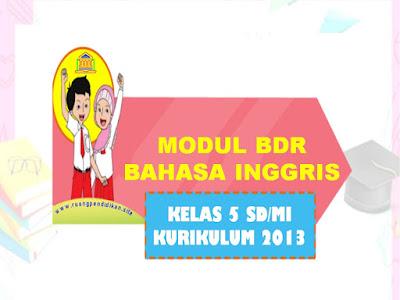 Modul BDR Bahasa Inggris Kelas 5 SD/MI