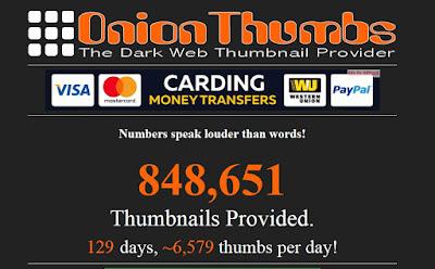 Onion thumbs - Secrets deep web