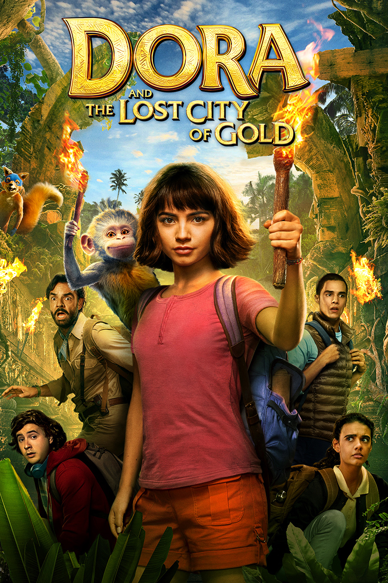 Dora and the Lost City of Gold [2019] [CUSTOM HD] [DVDR] [NTSC] [Latino]