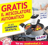Logo Casa Henkel: In regalo per te il mescolatore automatico ( valore 54€)