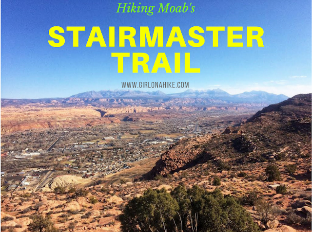 Hiking the Stairmaster Trail, Moab, Hiking in Moab with Dogs