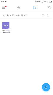 Cara Install apk + Data obb di Android Terbaru