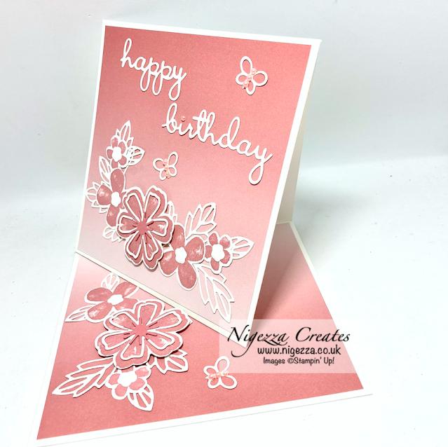 Ink Stamp Share February Blog Hop: Fancy Fold
