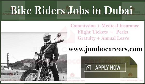 Bike delivery jobs in Dubai, Today & tomorrow walk jobs in Dubai,