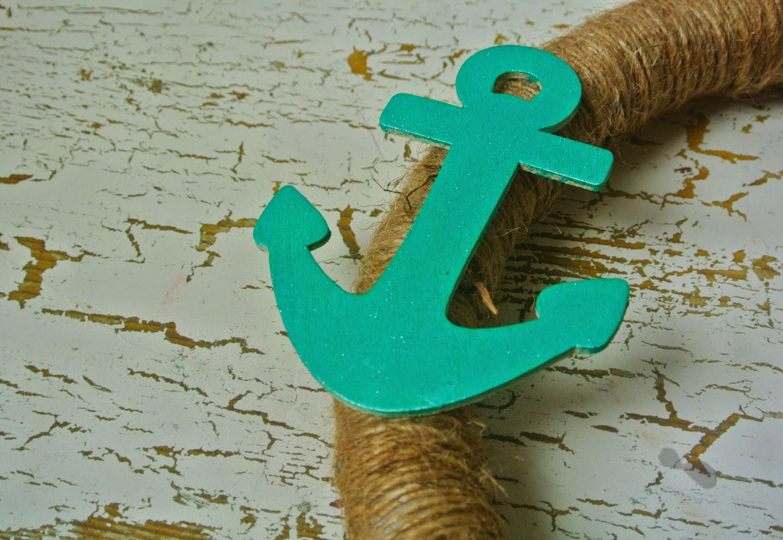 Beach Decor, DIY Wreath, Anchor