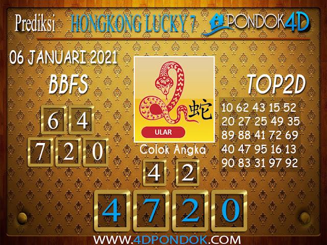 Prediksi Togel HONGKONG LUCKY 7 PONDOK4D 06 JANUARI 2021