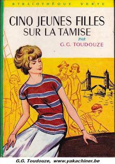 G.G TOUDOUZE, cinq jeunes filles sur la Tamise