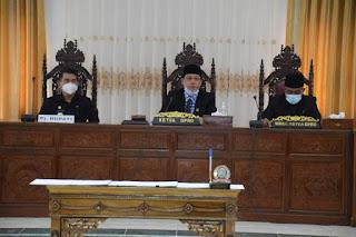 DPRD Sekadau Paripurna Istimewa Penetapan Paslon Bupati dan Wakil Bupati Terpilih