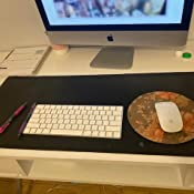 """Desk Pad for Office Home 33"""" x 14"""" 
