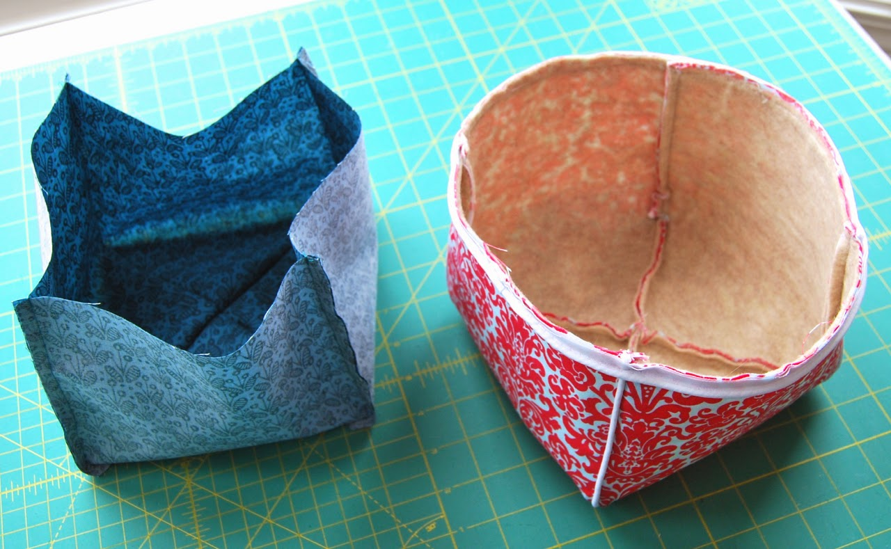 lining sewn together