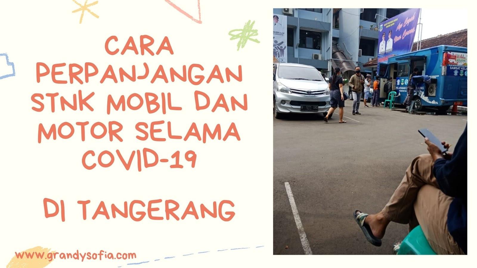 cara perpanjangan STNK mobil dan motor di Tangerang saat covid-19