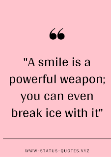 One Line Status on Smile | Short Quotes About Smile