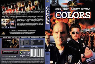 Colors: colores de guerra | 1988 | Colors , cover dvd