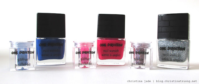 Makeup by One Direction Review Swatch Rock Me Nail Kit Varnish Polish