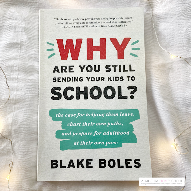 Why are you still sending your kids to school? homeschool book recommendation