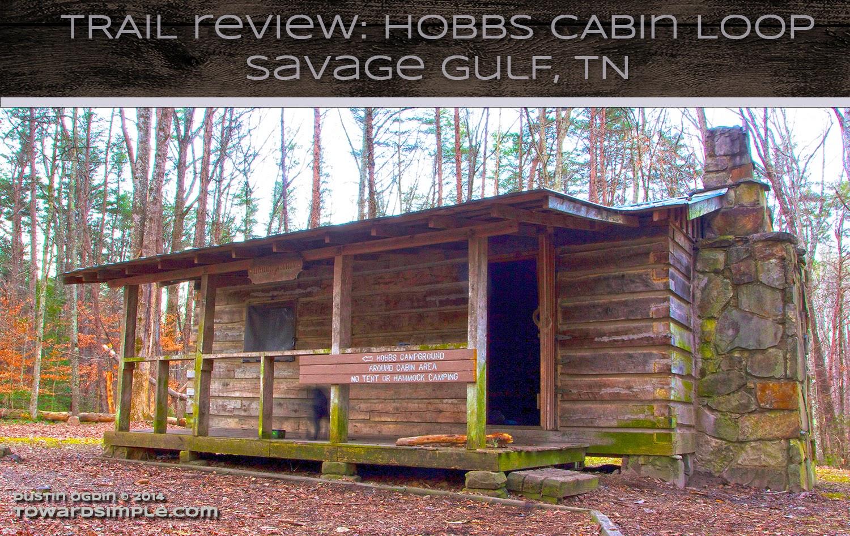 Hobbs Cabin Graphic, Savage Gulf, TN