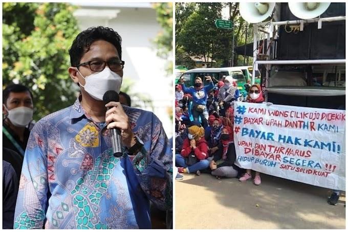 """""""Terima kasih Sudah Mau Mendukung Perjuangan Buruh yang Terkena PHK dan THR-nya Belum Dibayar di Kota Bandung!"""""""