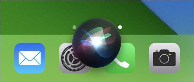 عندما ترى فقاعة Siri ، انطق اسم الاختصار لتشغيلها.
