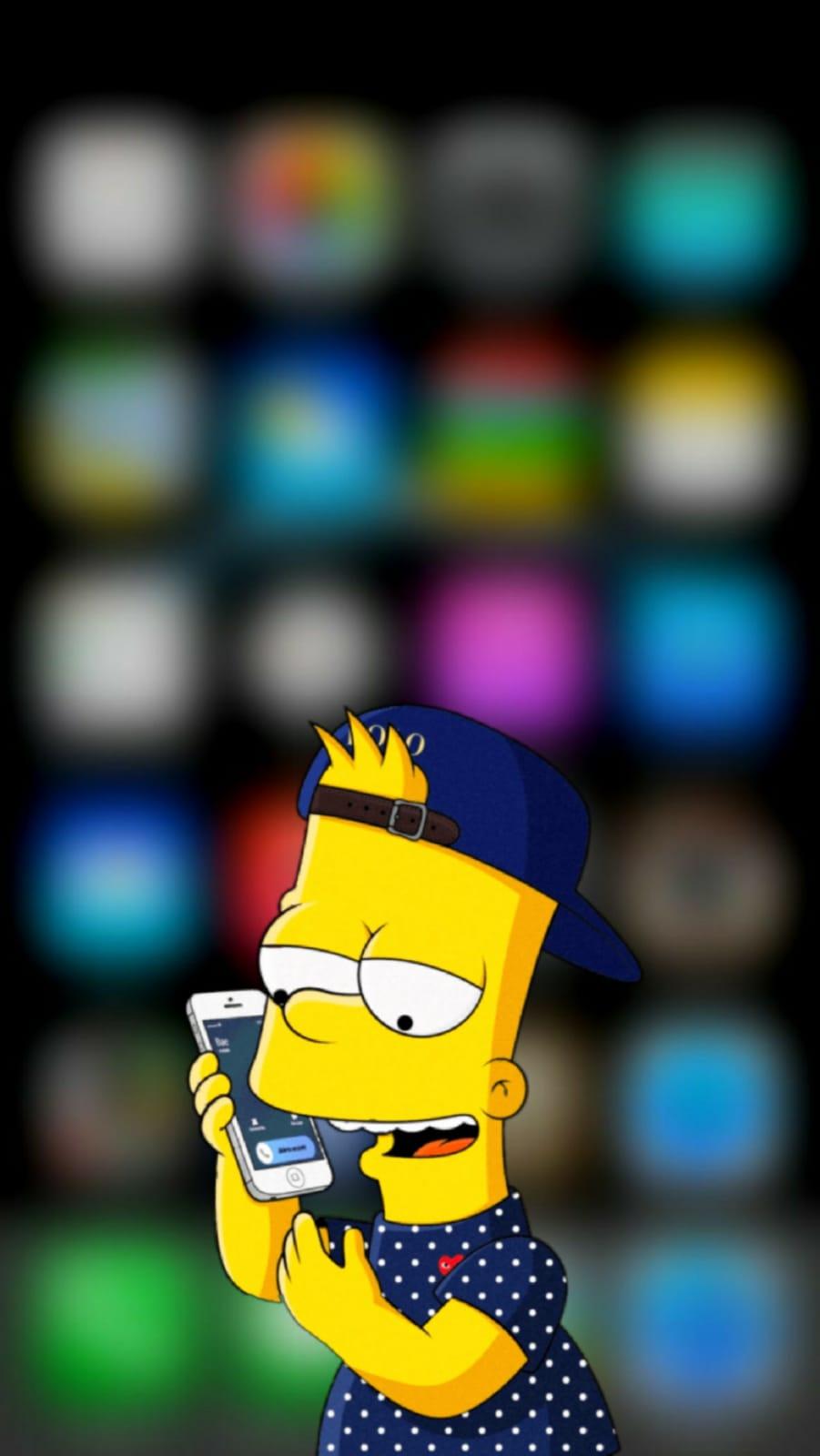 #simpson #wallpapersimpson #bart