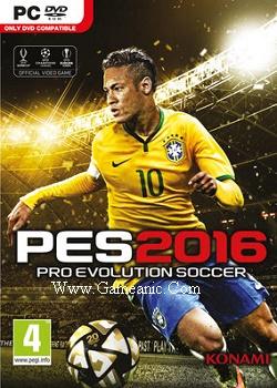 Pro Evolution Soccer 2016 Game Cover