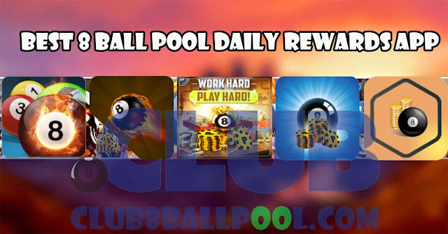 Best 8 ball pool daily rewards app