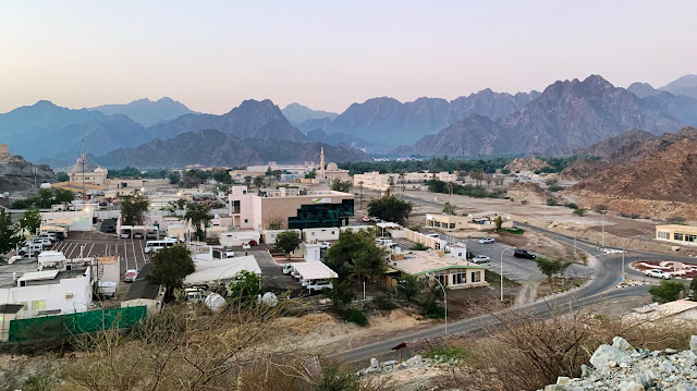 View of Hatta in the morning