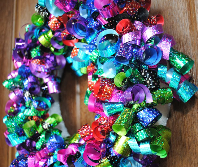 Kids birthday wreath
