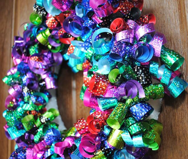 Kids birthday wreath