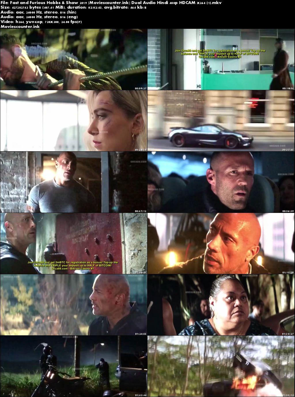 Screen Shots Fast & Furious Presents: Hobbs & Shaw 2019 Dual Audio HD 300MB