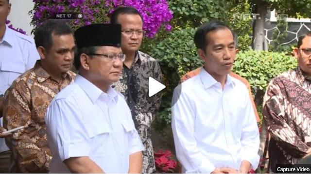 AKHIRNYA Prabowo Subianto Ucapkan Selamat Kepada Jokowi, Pertemuan Keduanya di Rumah Sumitro