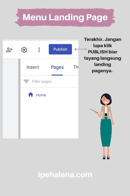laman landing page