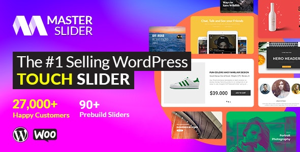Master Slider plugin–Touch Layer Slider WordPress Plugin