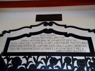 The Emperador Caltzontzin Theater in Patzcuaro