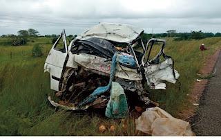 Acidente de viação faz 5 mortos e 8 feridos em Gorongosa, Sofala