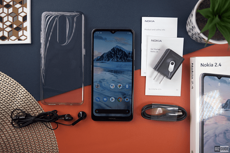 Unboxing the Nokia 2.4