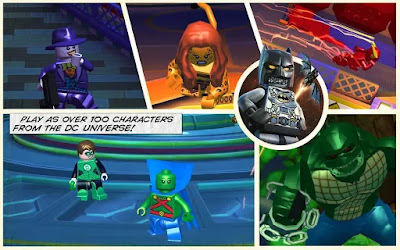 LEGO Batman: Beyond Gotham MOD APK+DATA