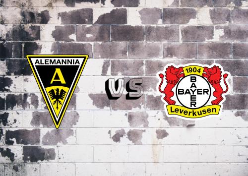 Alemannia Aachen vs Bayer Leverkusen  Resumen