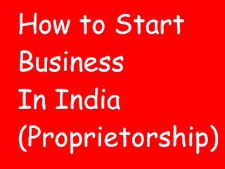 how to start own business in india