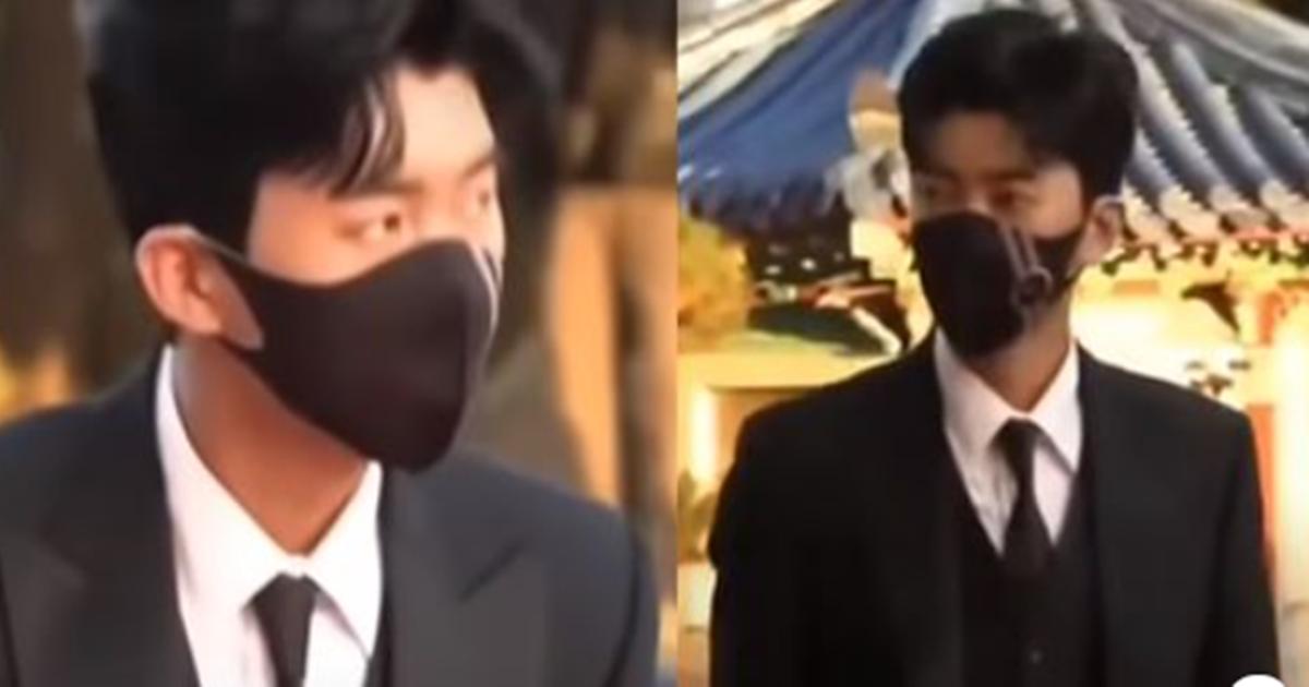 ''이런 씨 마스크 좀 벗으라고요'' 기자들 요구에 임영웅이 보인 반응