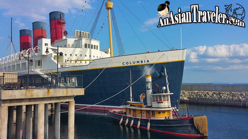 SS Columbia Ship at Tokyo DisneySea