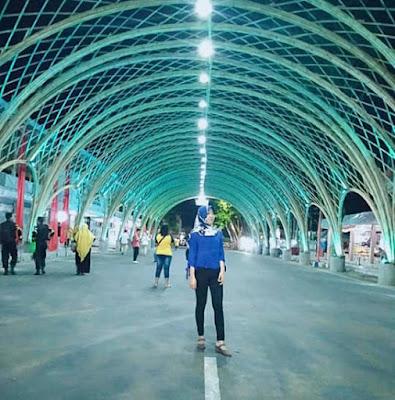 Berbagai festival Banyuwangi akan digelar di wilayah sekitar Lorong Bambu.