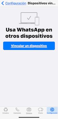 Usar WhatsApp en otros dispositivos