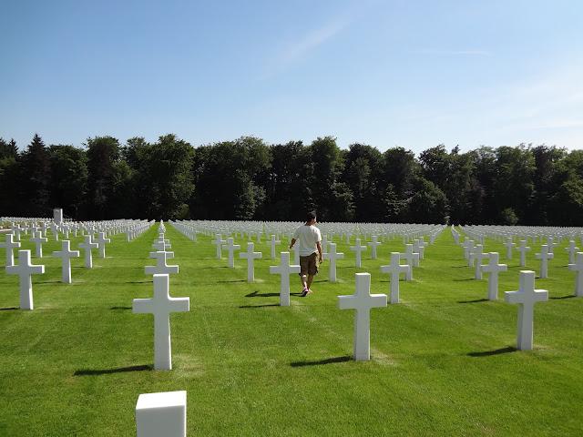 Tumbas del cementerio de Hamm en Luxemburgo