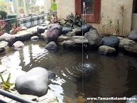 77 Ide Cantik Taman dan Kolam Ikan Minimalis