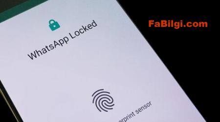 Whatsapp Parmak İzi Kilidi Nasıl Açılır Programsız - Android ve IOS