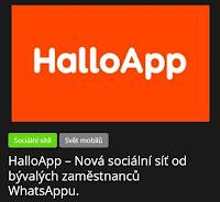 HalloApp – Nová sociální síť od bývalých zaměstnanců WhatsAppu. - AzaNoviny